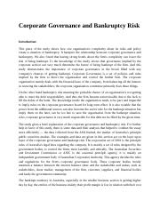 Corporate Governance and Bankruptcy Risk.edited.docx