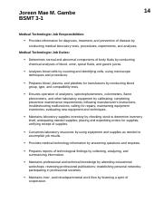Medical Technologist Job Responsibilities.docx