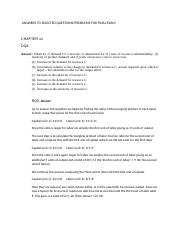 ECON 2010 answers to questions in supplemental final exam study guide.docx