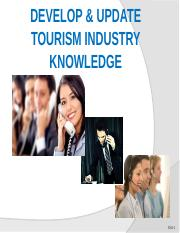 Develop and Update Tourism Industry Knowledge Part I.pptx