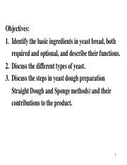 232-L21 OH's-yeast bread_notes.ppt