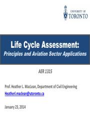 (3) 2014_Lecture3_AER1315_LifeCycleAnalysis(Aviation and the Atmosphere)_MacLean