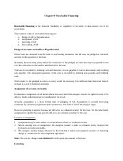 Ch.9 - Receivable Financing (5)
