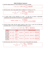 Math 1324 Review 1a(answers) (1)