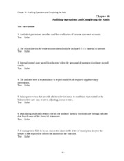 chapter-16-audit-operations-and-completing-the-audit