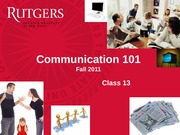 Communication Class 13