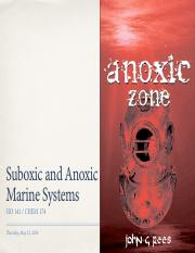 2016-05-12 Suboxic-Anoxic Systems