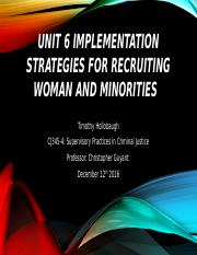 Unit 6 Assignment CJ345