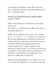 gradient vector notes