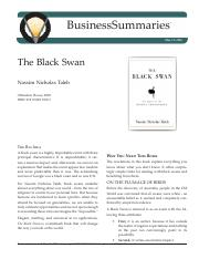 The Black Swan Taleb 2008(1)