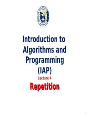 IAP-Lecture 4.ppt