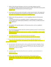 Insurance law, finance, risk management. CH.12