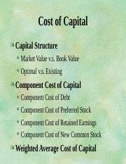 costofcapital