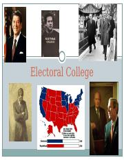 President 1.2 -- Divided Govt and Electoral College.ppt