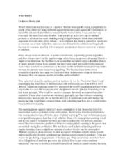 Exploratory essay outline