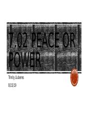 PEACE OR POWER.pptx