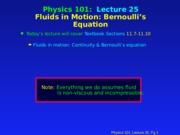 PHY 101 Lecture 25