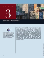 Ch03_Risk and Return partII FINMAN_BRIGHAM PDF_INTERMEDIATE book_inter
