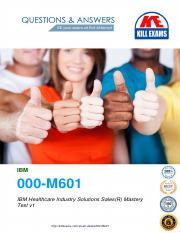 IBM-Healthcare-Industry-Solutions-Sales-Mastery-Test-v1-(000-M601).pdf