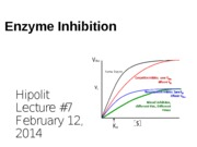 07 Enzyme Inhibition
