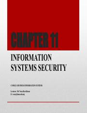 Chp11_Information Systems Security