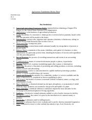 Agriscience Foundations Review Sheet