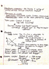 Electronic Commerce Notes