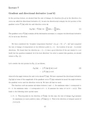 physics MATH 227 Week 3 Notes