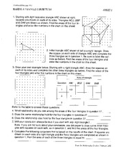 Geometry Example Notes
