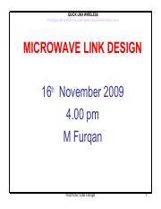 69 Pages 61861344 Microwave Link Design Pdf