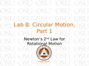 Lab 8 Circular Motion part 1