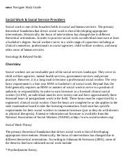 Social Work & Social Service Providers Research Paper Starter - eNotes.pdf