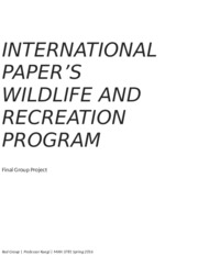 IP Wildlife and Recreation Red Group Final