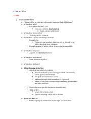 LGST 101 Notes