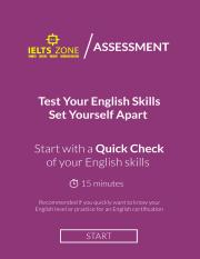 Take the Quick Check in 15 minutes - IELTS ZONE.pdf