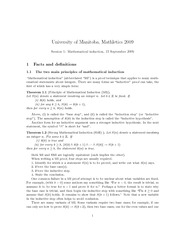 Math 2352 mathematical induction notes