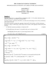 Risk Theory - Assignment 2 - 2017 - SOLUTIONS.pdf