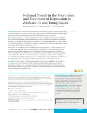 National Trends in the Prevalence and Treatment of Depression in Adolescents and Young Adults.pdf