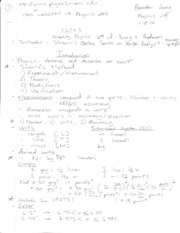 FULL LECTURE NOTES FOR PHYSICS 205