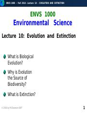 F2016-Lecture 10-Evolution-posted