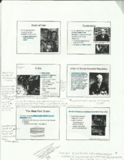 American History Red Scare Notes