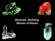 Lecture: Minerals