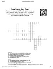 Answer Key Crossword Puzzle Maker Final Puzzle Piagets Stages Of