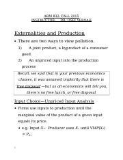 Externalities and Production.doc