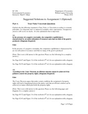 EC238 Assignment 1 with Solutions
