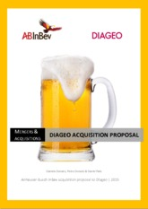 ABInbev acquisition proposal to Diageo