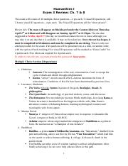 Exam 3 Review Ch 7 and 8 Bb Exam Spring 2020 (1).docx