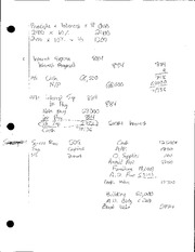 Class Notes Nine Accounting Steps