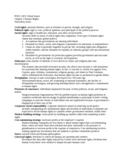 POLS 2401 Global Issues Chapter 3 Study guide