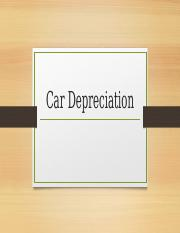 Car Depreciation mat 171.pptx